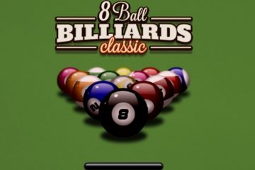 Biliardas Pool 8 kamuoliukai