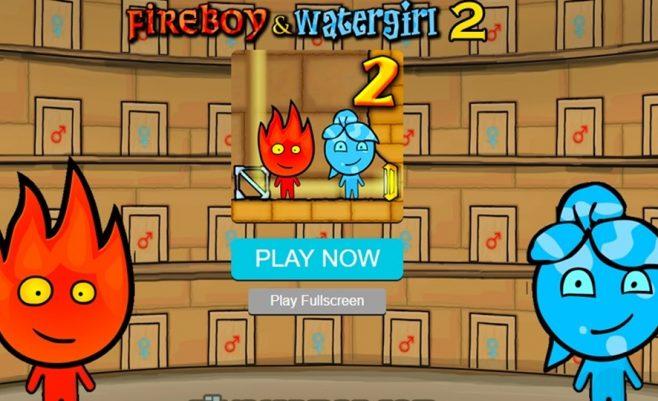 Žaidimas Ugnis ir vanduo 2 dalis, Ugnius ir Vandenė