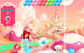 Burbulų šaudyklė mergaitėms - žaidimai