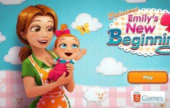 Emilija ir jos kūdikis, restorano žaidimai - Y8