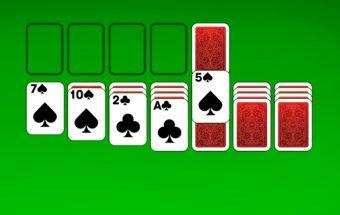 Klasikinis solitaire žaidimas - Y8