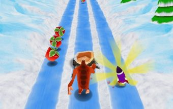 Milžino Yeti bėgimas per kliūtis, žaidimai - Y8