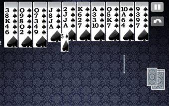 Kortų žaidimas - Spider solitaire. Y8 soliatire žaidimas.