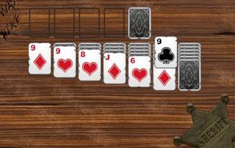 Vakarietiškas solitaire, kortų solitaire žaidimai