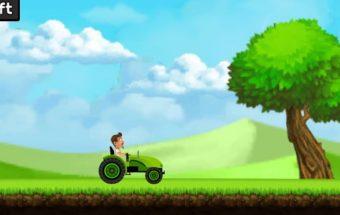 Isprotėjęs traktoristas žaidimas y8