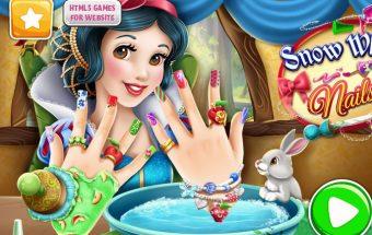 Manikiūras merginoms - žaidimai