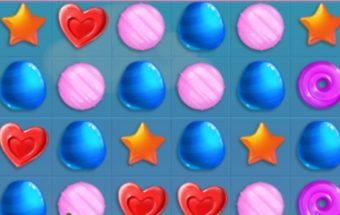 Sujungimai žaidimas - saldainiukai