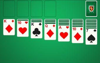 Solitaire kortų žaidimas internete.