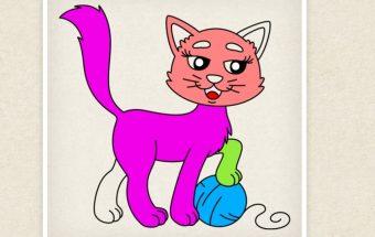 Žaidimas vaikams Y8 - spalvinimo knygutė