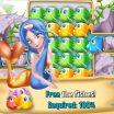 Loginis žaidimas vaikams - undinėlė ir žuvis