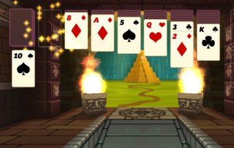 Kortos žaidimai 3D solitaire