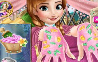 Ledo Princesės manikiūras