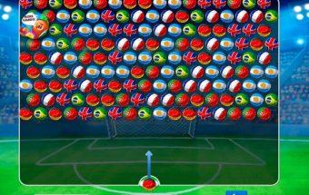 Burbuliukai iš pasaulio futbolo čempionato.