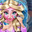 Mergaitiškas Princesių makiažas.