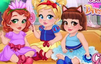 Rengti tris mergaites