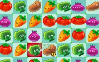 Sunaikink 3 daržoves ir žaisk.