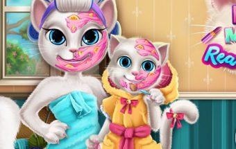 Katytės mielas žaidimas mergaitėms
