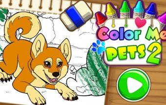 Lapė - spalvinimo paveiksliukas - Y8 žaidimas