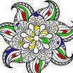 Mandala - spalvinimo paveiksliukas - Y8