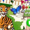 Kaip reikia nuspalvinti tigrą. Tigras spalvinimo žaidimas.