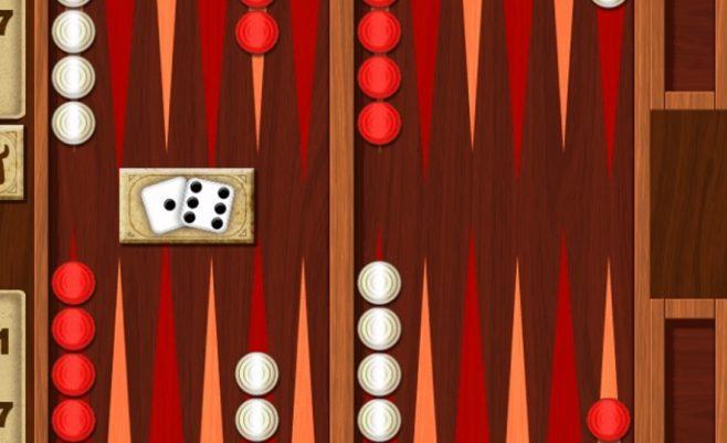 Žaidimas dviems - Backgammon