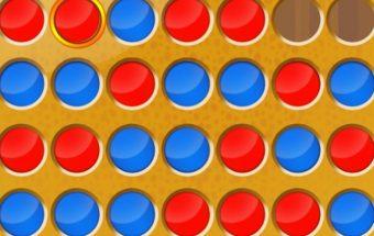 Žaidimas dviems - kryžiukai nuliukai ir burbuliukai