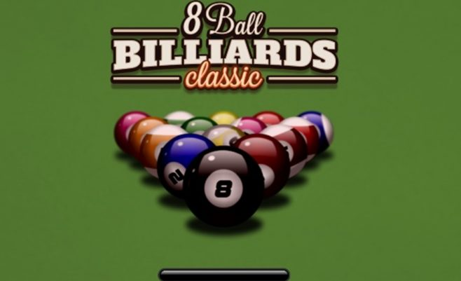 Dviems skirtas žaidimas: Biliardas 8 kamuoliukai Pool