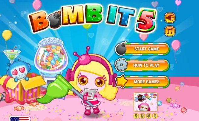 """""""Bomb it"""" 5 žaidimas dviems."""