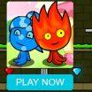 """Nuotykiai dviems su Ugnis ir Ledas žaidimu - """"Fireboy and Watergirl"""" serija."""