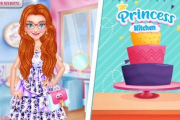 Princesės gimtadienio tortas