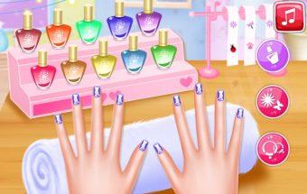 Princesės manikiūras žaidimai