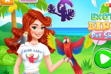 Egzotiniai paukščiai – gyvūnų parduotuvė