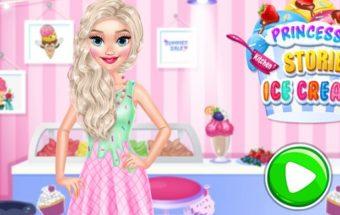 Ledų gaminimas su Princese Elza.