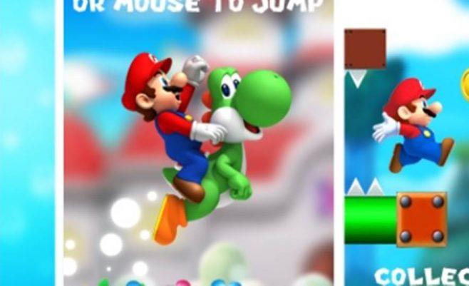 Super Mario žaidimas